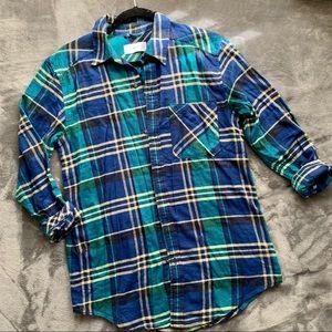 Aritzia   TNA boyfriend fit pocket flannel
